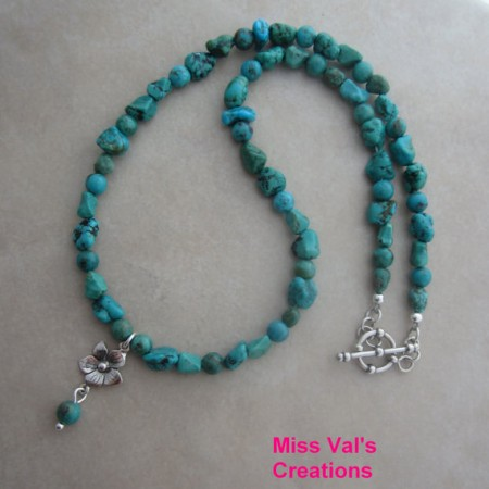 Mixed Turquoise Necklace
