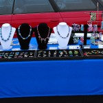 My First Jewelry Table Setup at the Flea Market