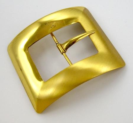 Vintage Belt Buckle for Bracelet - tutorial by Rena Klingenberg