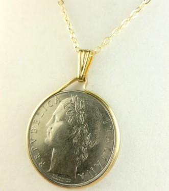 Coin pendant