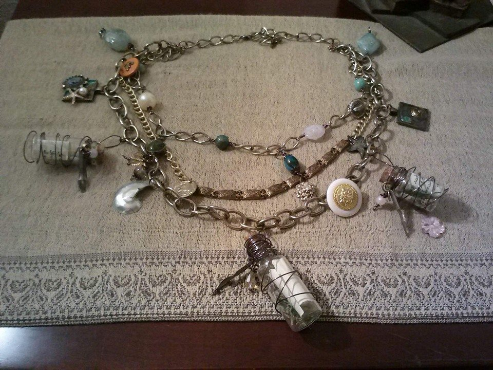 """Message in a Bottle"" Necklace"