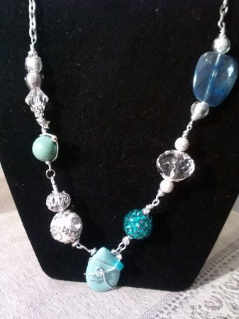 Winter's Fantasy Necklace