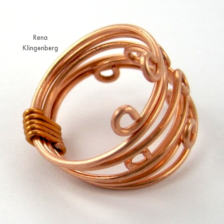 Diy Gold Wire Rings