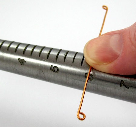 Ring mandrel for Wrapped Stacked Wire Ring - tutorial by Rena Klingenberg