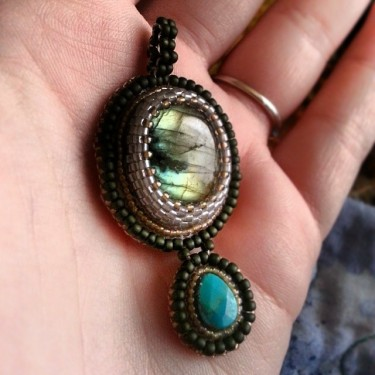 a recently made pendant to build up inventory