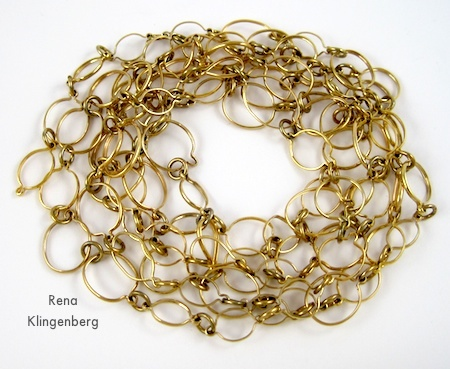 60 Inch Chain - 6 Ways to Wear a 5-Foot Long Chain - by Rena Klingenberg