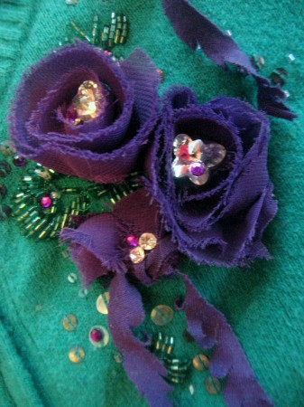 Sweater Jewellery Close-Up