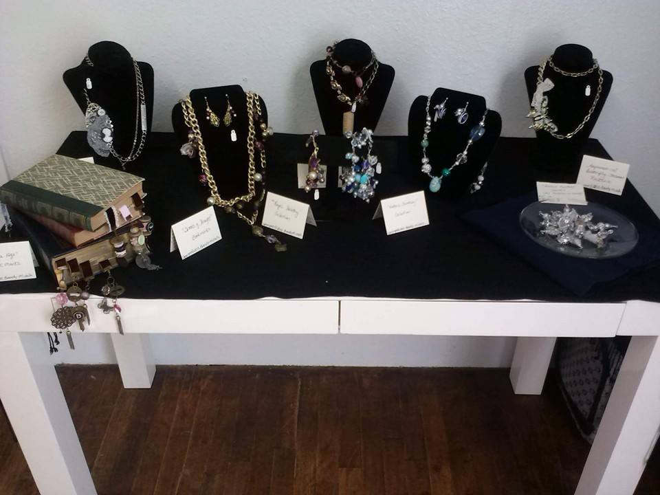 Jewelry Display for Christmas Art Show