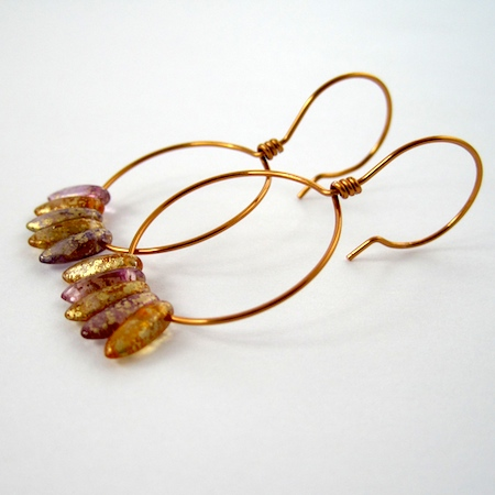 Beaded Hoop Earwires (Tutorial)