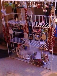 Kitchen Rack Jewelry Display