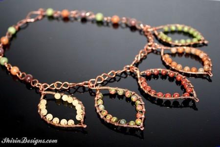 Fall Necklace - Shirin