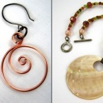 Spiral and Shell Jewelry by Rena Klingenberg