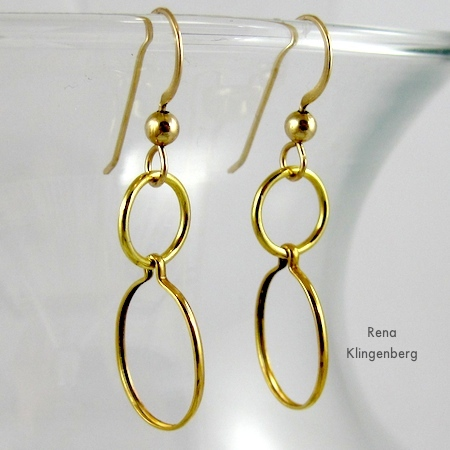 Earrings for 6 Ways to Wear a 5-Foot Long Chain - by Rena Klingenberg