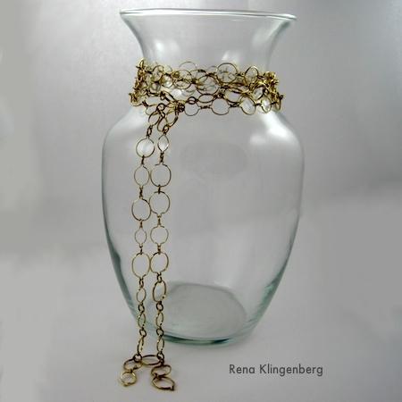 Colar Lariat - 6 maneiras de usar uma corrente de 1,5 m de comprimento - por Rena Klingenberg