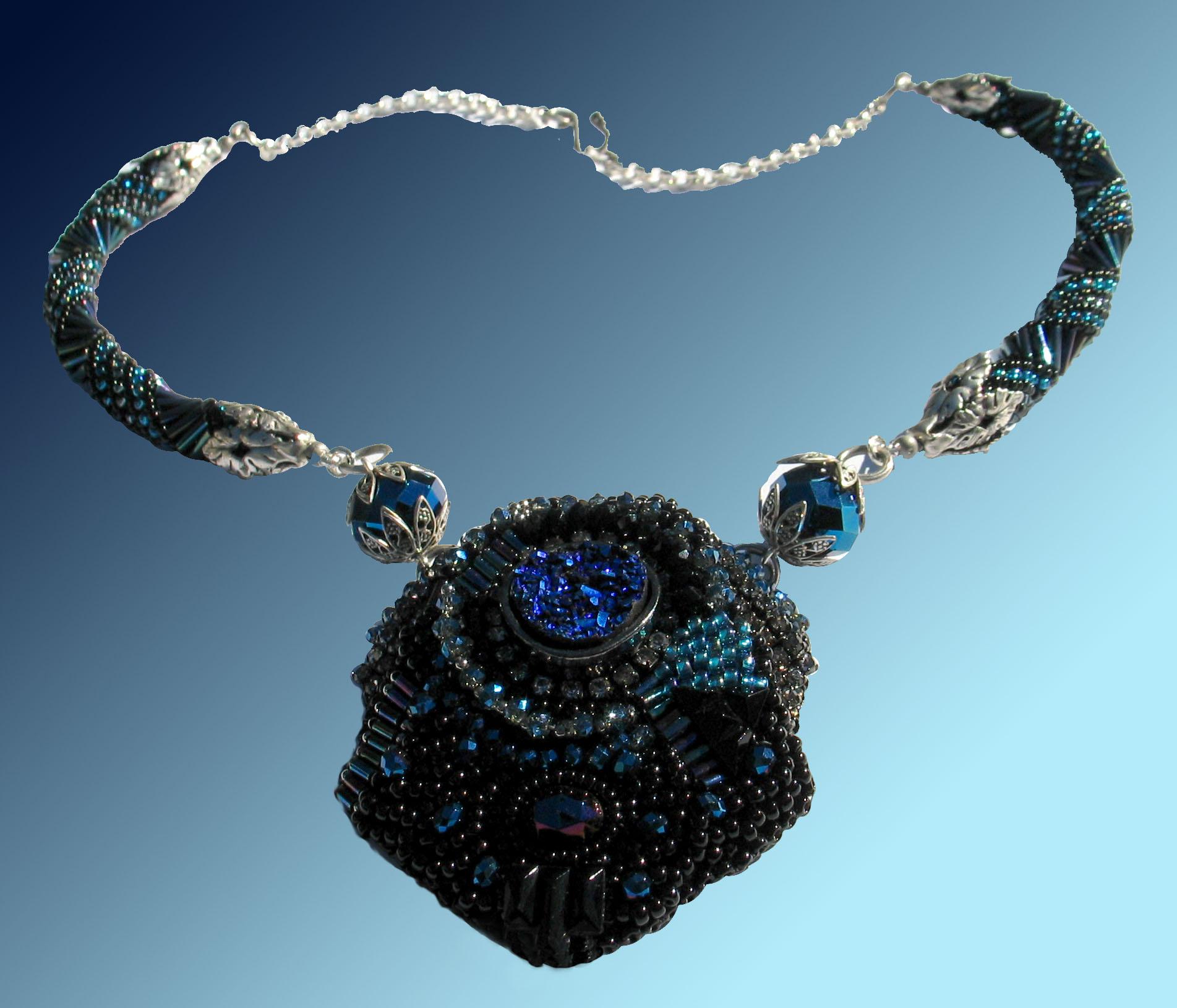 Deco Druzy Necklace