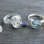 Swirly Rings