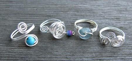 Swirly Rings — Jewelry Making Journal