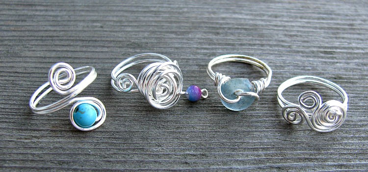Swirly Rings