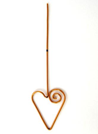 Heart Earwires - tutorial by Rena Klingenberg
