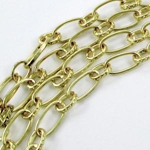 Corrente restante para colar dramático de elos de joias e pedaços de corrente - tutorial por Rena Klingenberg