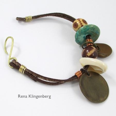 Safari Leather Bracelet for Guys & Gals