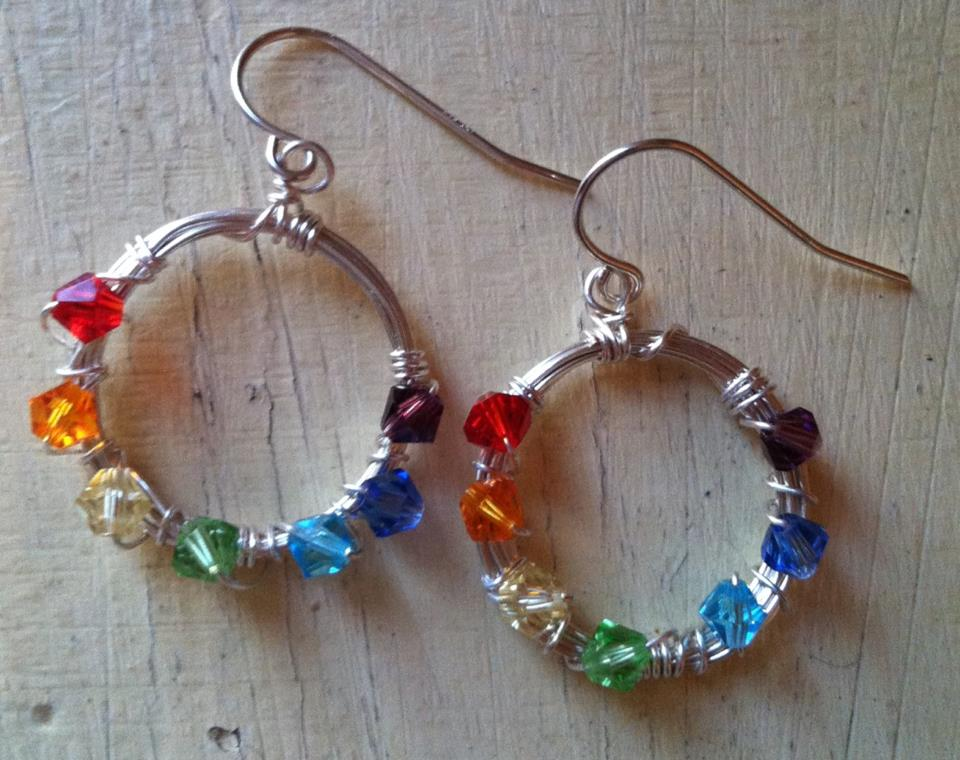 Yoga Inspired Jewelry with Crystal Chakras