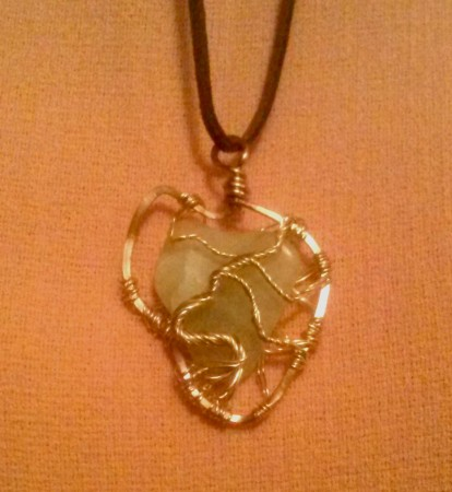 RBarden: African Tree of Life Jade Gemstone Pendant