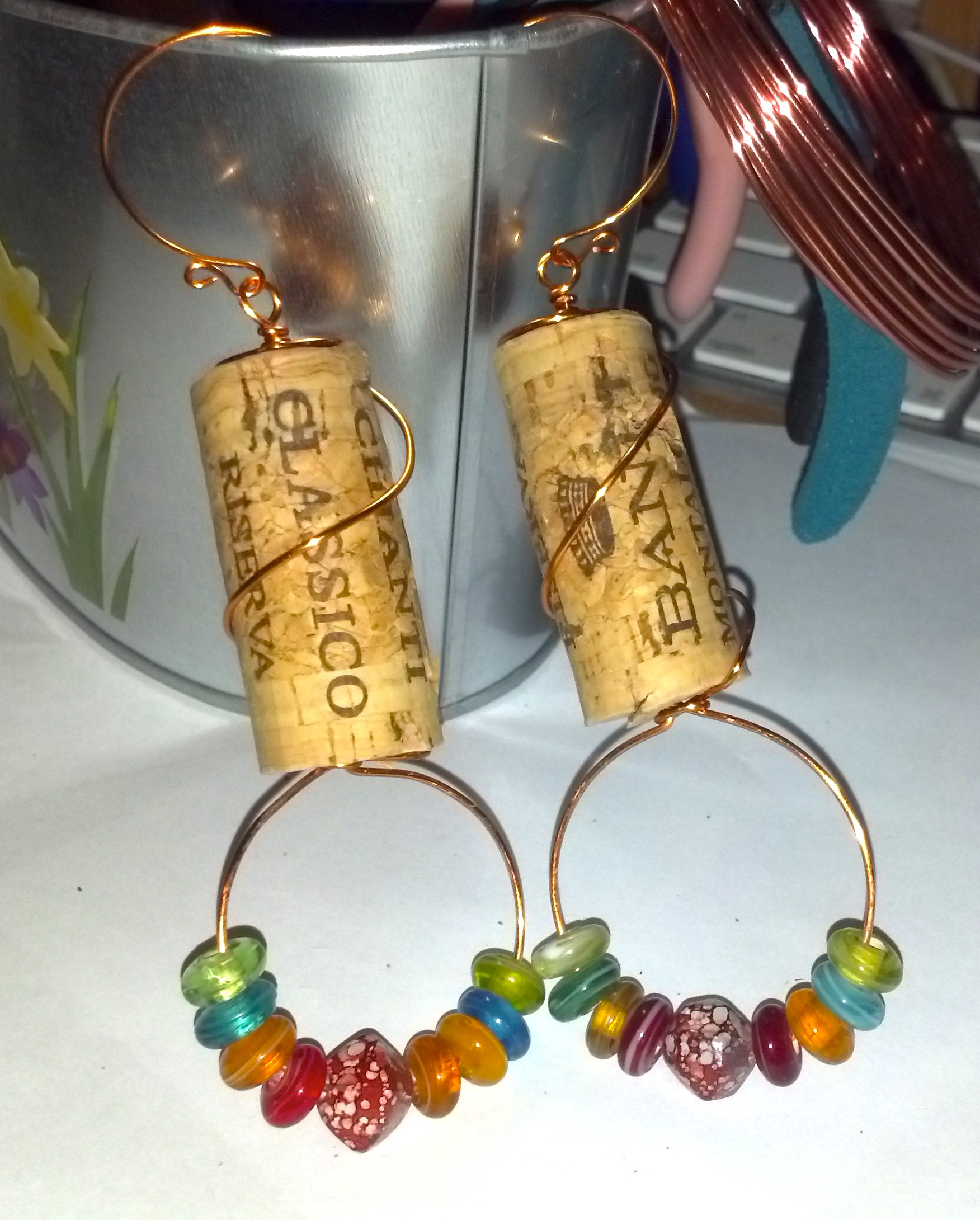 Quirky Corky Earrings