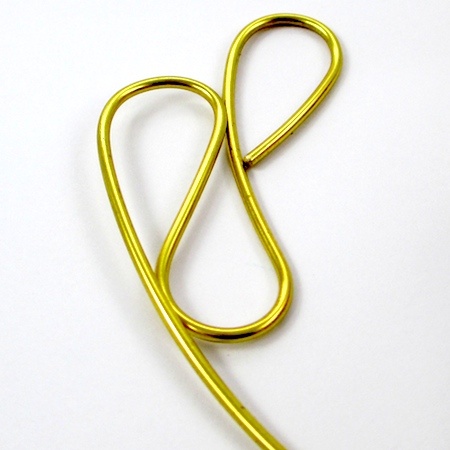 Making wire focal for Dangerous Curves Wire & Chain Necklace - tutorial by Rena Klingenberg