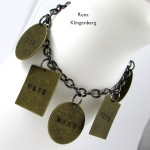 Stamped Quote Charm Bracelet (Tutorial)
