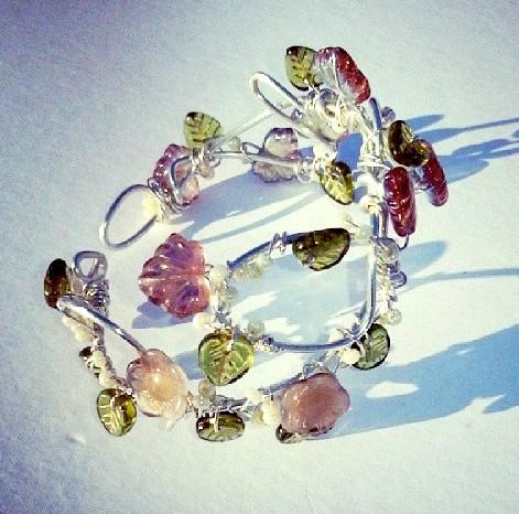 Eden: A Wire Wrap Bracelet