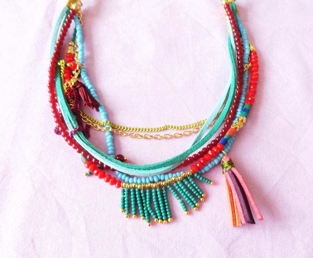 Colorful Boho Necklaces
