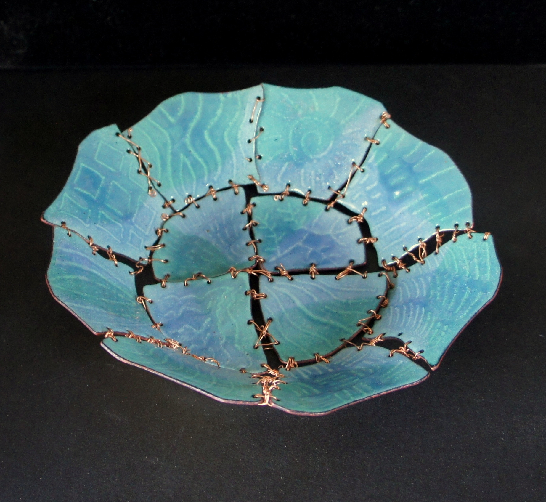 Blue Shard Bowl