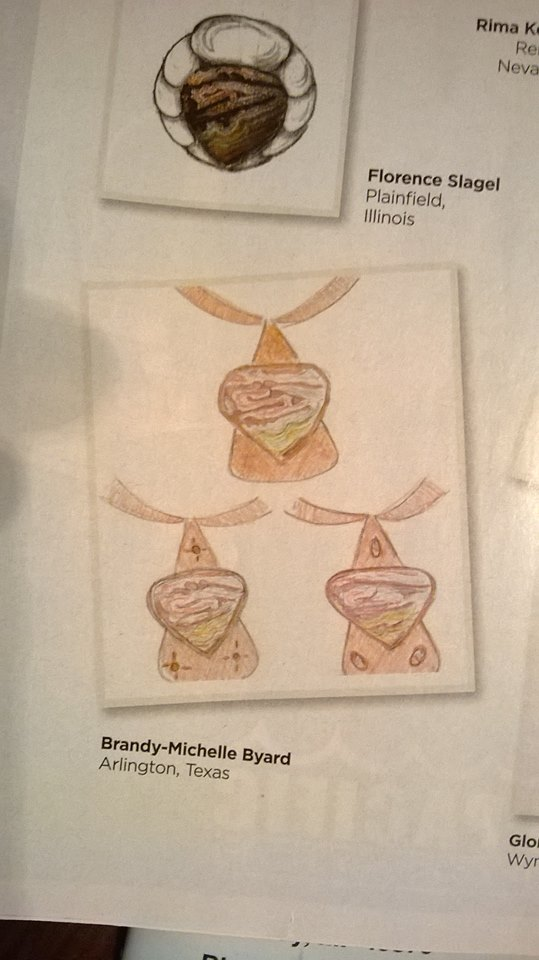 Sketch Design Makes it into The Lapidary Journal!