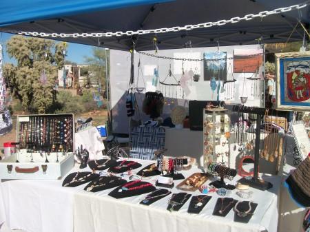 KHermann: My Arizona Jewelry Display Booth 2