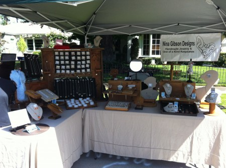 NGibson: Eclectic & Welcoming Jewelry Booth 1