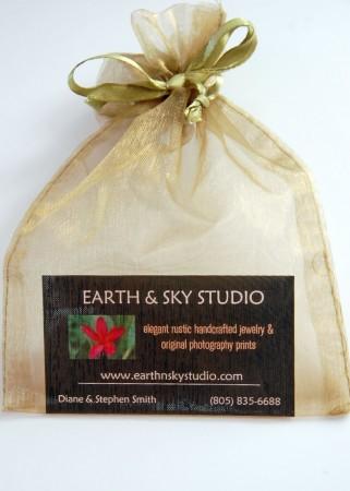 Earth & Sky Studio Jewelry Purchase Bag
