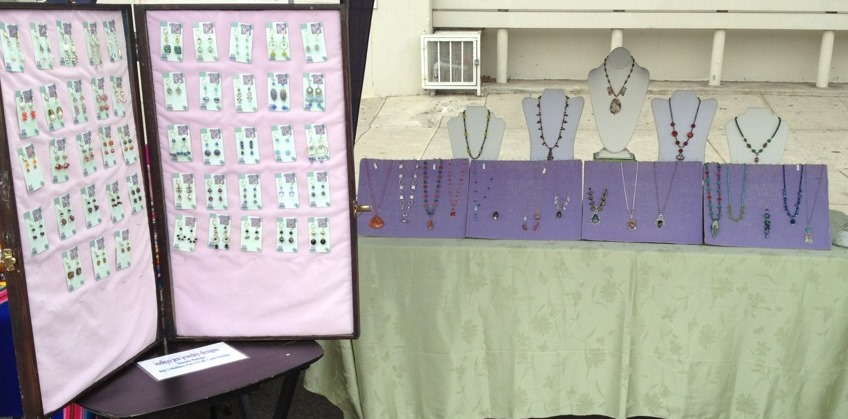 Farmer's Market  Jewelry Display