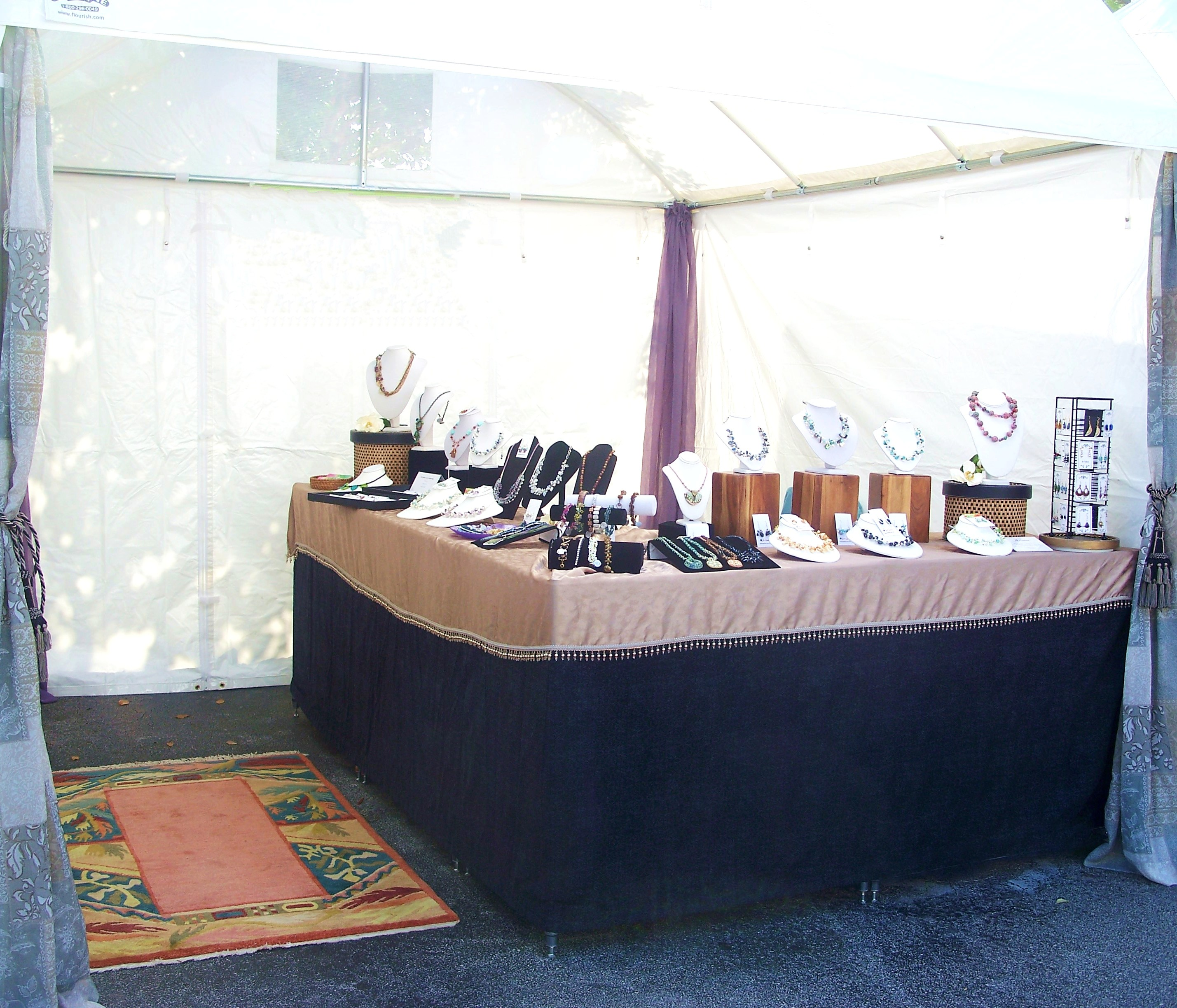 Upgraded Jewelry Display Booth