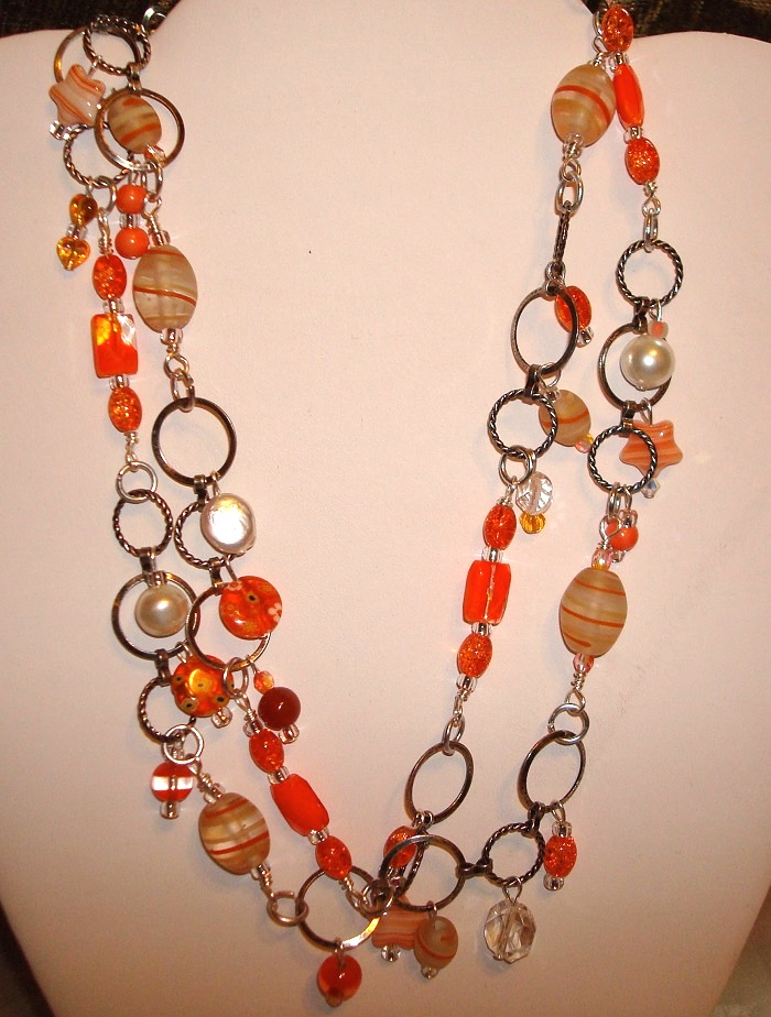 Necklaces from Leftover Beads