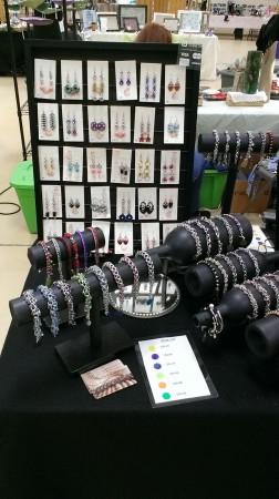 MAntonetti: Chain Maille Jewelry Display 2