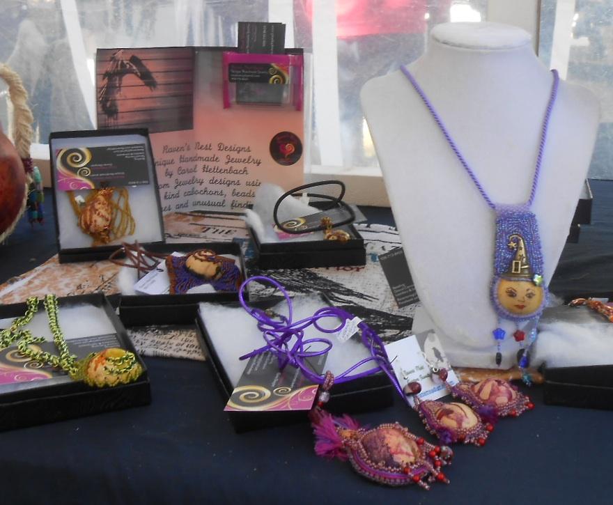 Gourd Jewelry Display