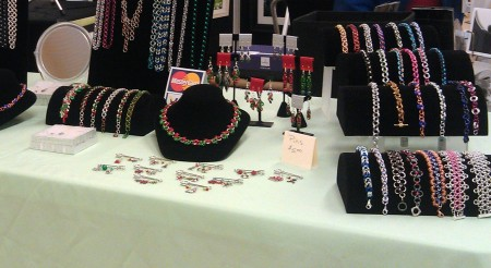 Chainmaille Displays
