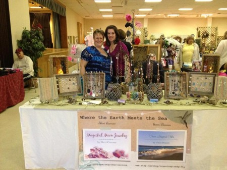 Gwen Demian & Sheri Cerrone - Owners of Ocean Inspired Gifts and Magickal Moon Jewelry