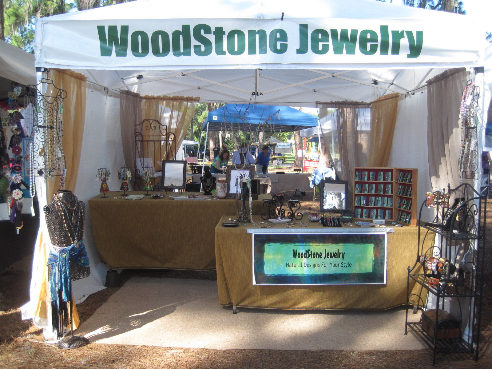 My Always Evolving Jewelry Booth