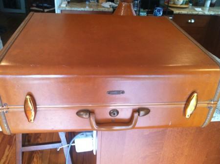 Vintage Suitcase Exterior