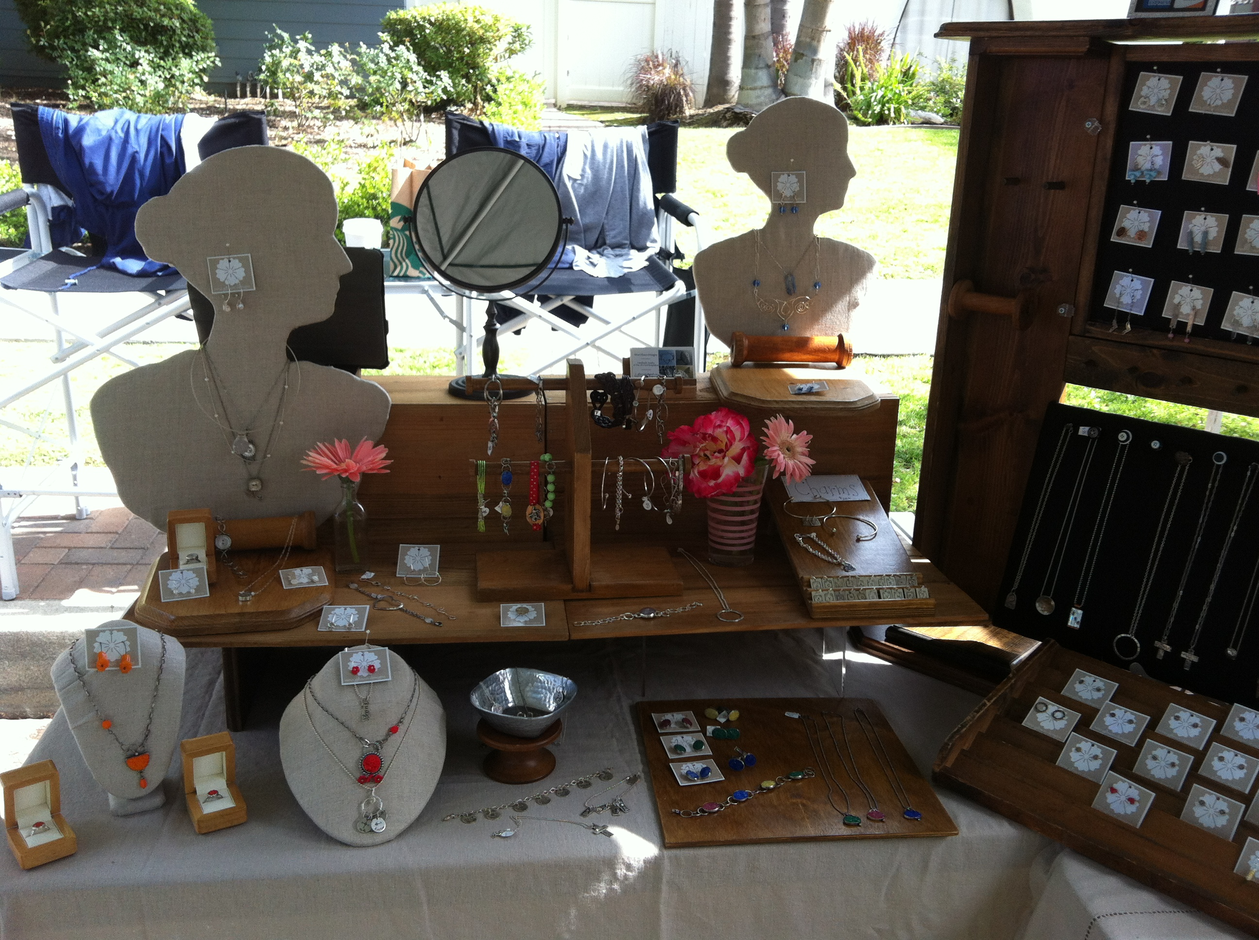 Eclectic & Welcoming Jewelry Booth