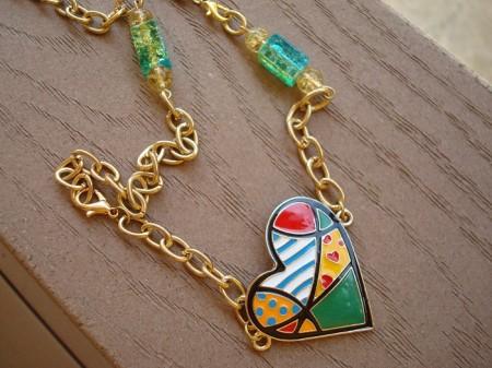 Bracelet turned into a necklace