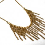 Long necklace - Roaring 1920s Flapper Fringe Jewelry - tutorial by Rena Klingenberg