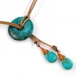Southwestern Lariat Necklace (Tutorial)